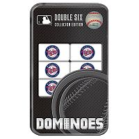 Minnesota Twins Double-Six Collectble Dominoes Set