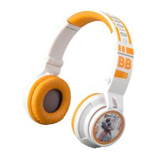 Star Wars: Episode VIII The Last Jedi BB-8 Youth Bluetooth Headphones by eKids