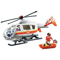 Playmobil Emergency Medical Helicopter Playset - 6686
