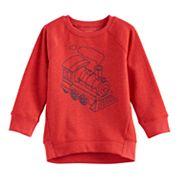 Toddler Boy Jumping Beans® Raglan Fleece Graphic Sweatshirt