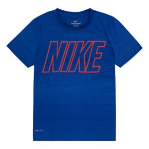 Boys 4-7 Nike Ombre Dri-FIT Heathered Tee