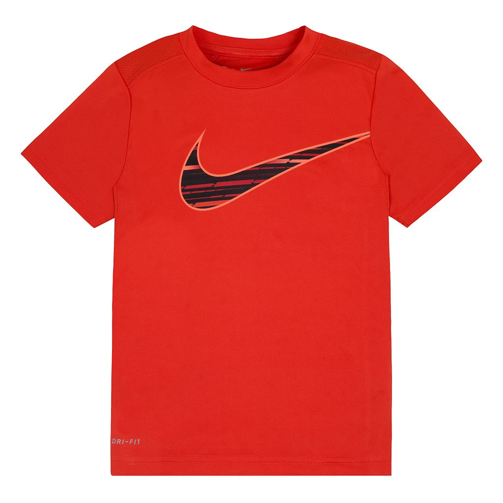 Boys 4-7 Nike Logo Dri-FIT Graphic Tee
