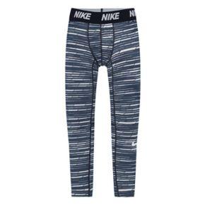 Boys 4-7 Nike Base Layer Jacquard Tights