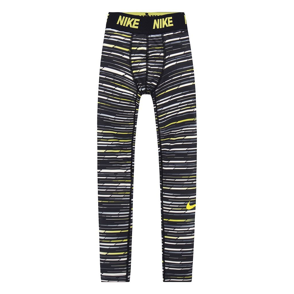 Boys 4-7 Nike Base Layer Jacquard Tights
