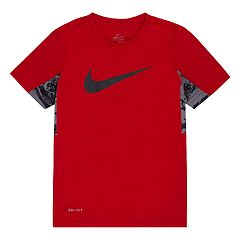 Boys 4-7 Nike Swoosh Dri-FIT Mesh Tee
