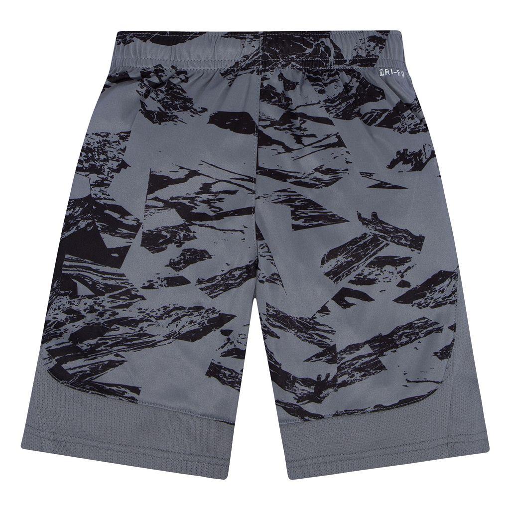 Boys 4-7 Nike Logo Abstract Dri-FIT Mesh Shorts