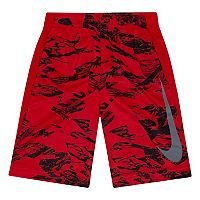 Boys 4-7 Nike Logo Abstract Dri-FIT Mesh Shorts