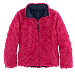 Girls 7-16 SO® Reversible Faux-Fur Quilted Jacket