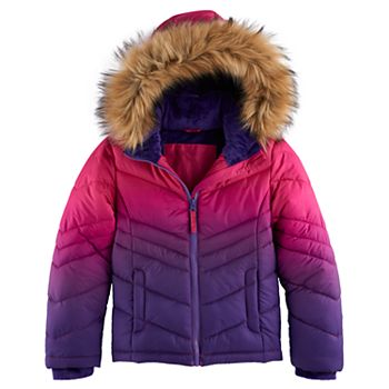 Girls 4-16 SO Heavyweight Faux-Fur Puffer Jacket