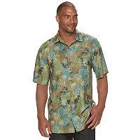 Big & Tall Batik Bay Classic-Fit Tropical Button-Down Shirt