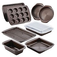 Circulon Chocolate 10-pc. Nonstick Bakeware Set
