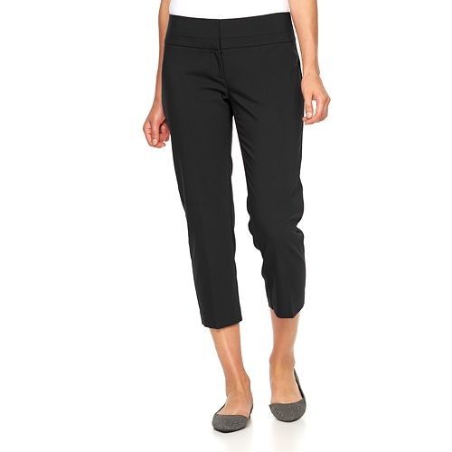 Women's Apt. 9® Torie Modern Fit Capri Dress Pants