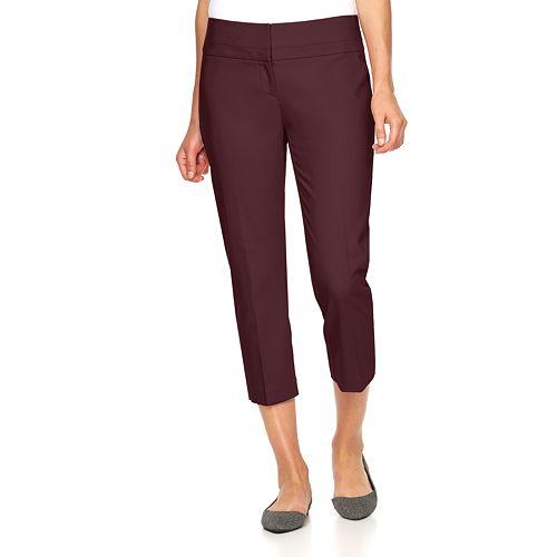 3980aa67b27 Women s Apt. 9® Torie Modern Fit Capri Dress Pants