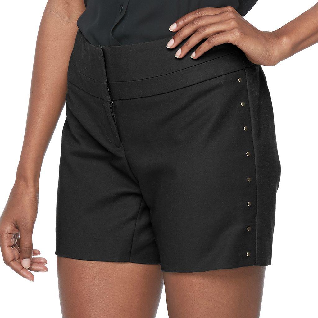 Women's Apt. 9® Wide-Waist Shorts