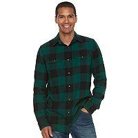 Men's SONOMA Goods for Life™ Slim-Fit Plaid Flannel Button-Down Shirt