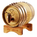 Refinery Whiskey Barrel Drink Dispenser