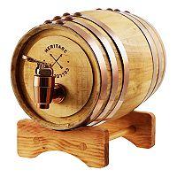 Refinery Whiskey Barrel Drink Dispenser