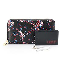 Apt. 9® RFID-Blocking Zip-Around Phone Charging Wallet