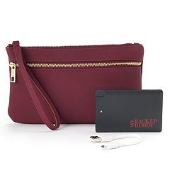 Apt. 9® RFID-Blocking Phone Charging Wristlet