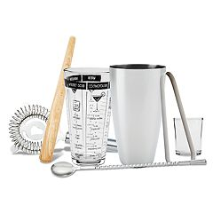 Refinery 7 pc Mixology Tool Set