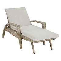 INK+IVY Anna Patio Adjustable Chaise Lounge Chair