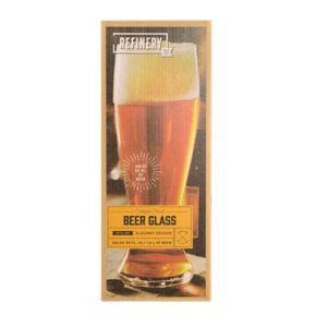Refinery Jumbo Pilsner Beer Glass