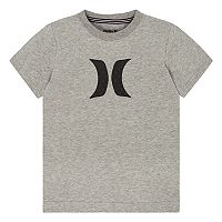 Boys 4-7 Hurley Logo Heathered Graphic Tee
