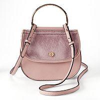LC Lauren Conrad Delice Flap Crossbody Bag
