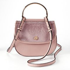 LC Lauren Conrad Delice Flap Crossbody Bag