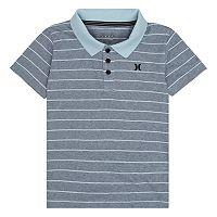 Boys 4-7 Hurley Striped Logo Polo