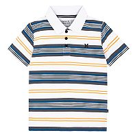 Boys 4-7 Hurley Striped Logo Polo