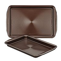 Circulon Symmetry Chocolate 2 pc Nonstick Cookie Sheet Set