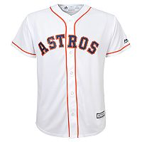 Boys 4-7 Majestic Houston Astros MLB Replica Jersey