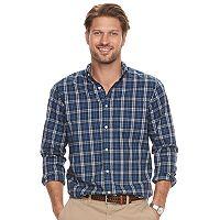 Big & Tall SONOMA Goods for Life Flexwear Modern-Fit Button-Down Shirt
