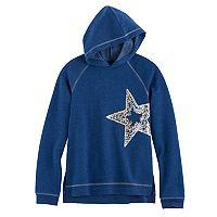 Girls 7-16 & Plus Size SO® Sequin Fleece Sweatshirt