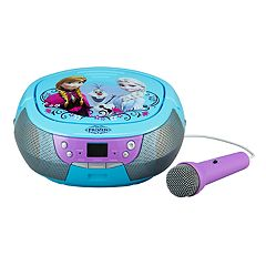 Disney's Frozen CD Boombox with Microphone by eKids