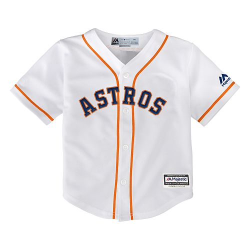 Baby Majestic Houston Astros Cool Base Replica Jersey