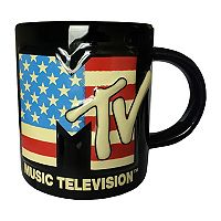 MTV American Flag Ceramic Mug by ICUP