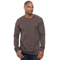 Big & Tall SONOMA Goods for Life™ Slim-Fit Thermal Performance Henley