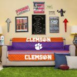 Pegasus Sports Fashions Clemson Tigers Sofa Protector