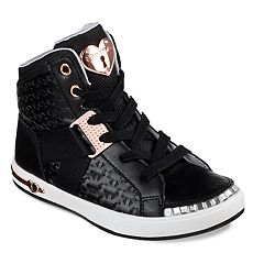 Skechers Shoutouts Bling Beauties Girls' High Top Sneakers