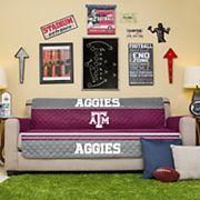 Pegasus Home Fashions Texas A&M Aggies Sofa Protector