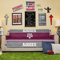 Pegasus Home Fashions Texas A&M Aggies Sofa Protector