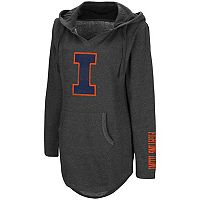 Women's Campus Heritage Illinois Fighting Illini Hooded Tunic