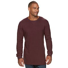 Big & Tall SONOMA Goods for Life™ Slim-Fit Thermal Performance Crewneck Tee