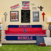Pegasus Home Fashions Ole Miss Rebels Sofa Protector