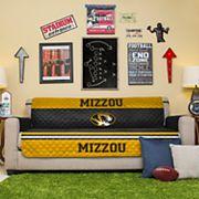 Pegasus Home Fashions Missouri Tigers Sofa Protector