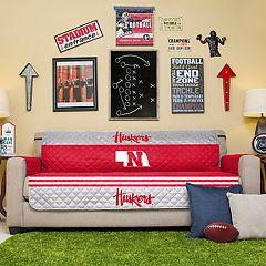 Pegasus Home Fashions Nebraska Cornhuskers Sofa Protector