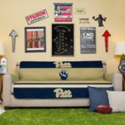 Pegasus Home Fashions Pitt Panthers Sofa Protector