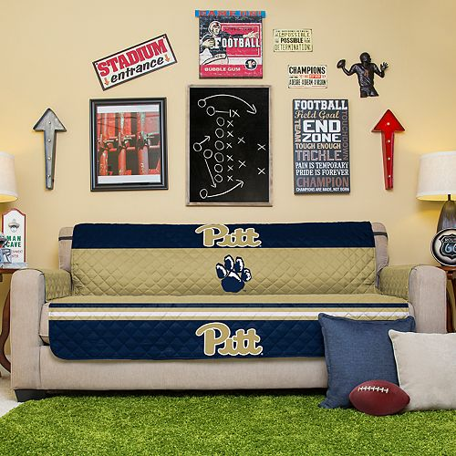 Pegasus Sports Fashions Pitt Panthers Sofa Protector